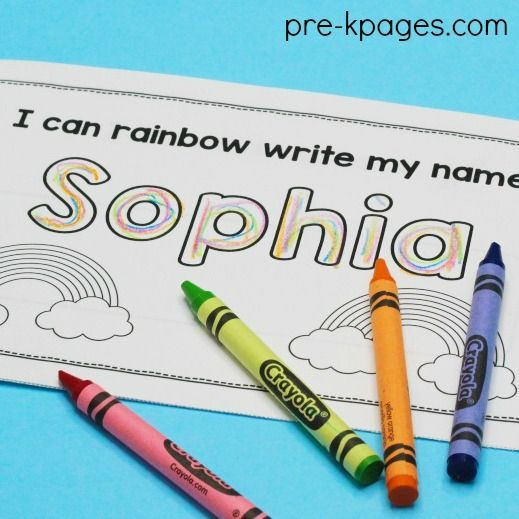 Editable Name Books for Preschool. Easily create personalized name booklets for each child in your classroom. Perfect for preschool, pre-k, and kindergarten.