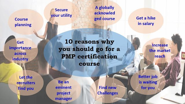 PMP Certification is getting popular day by day but that isn't not the only why one should do a training and certification course in PMP, here are top 10 reason why you should Opt for this course and what are the benefits of doing it. If you are finding these reasons are worth to do this course then you should do it right way.