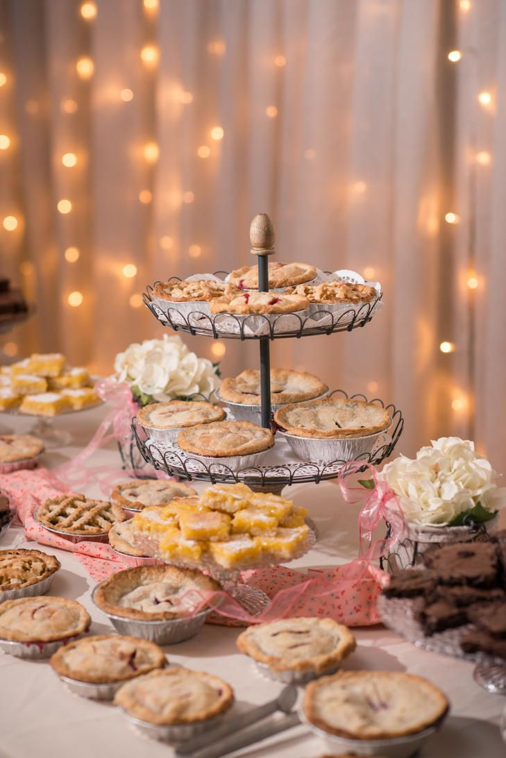 17 Best Images About Wedding Pie Tables On Pinterest