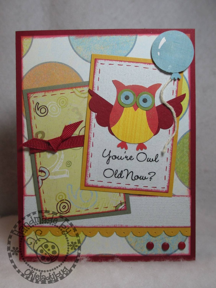 Still love my Stampin Up owl punch!