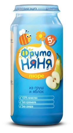 Пюре Фрутоняня яблоко-груша, 250 г  — 47р. --------------------- «ФрутоНяня» — это высококачественное детское питание, для производства которого используются тщательно отобранное сырье и самые современные технологии. Предлагаемая линейка продуктов в полной мере удовлетворяет потребности ребенка раннего возраста в сбалансированной, полезной и вкусной пище. Яблоко является источником фруктовых кислот, витамина С и минеральных веществ (железо, цинк). Благодаря сочетанию с витамином С железо…