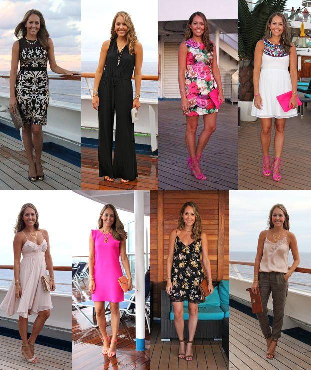 Best Cruise Outfits Ideas On Pinterest Summer Cruise Outfits - What to wear on a cruise ship dinner