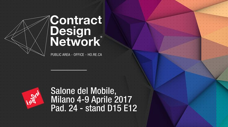 See you soon at Salone del Mobile in Milan. Visit us at PAD.24 STAND D15 E12. We are working with #ContractDesignNetwork  #decima #webuildemotions