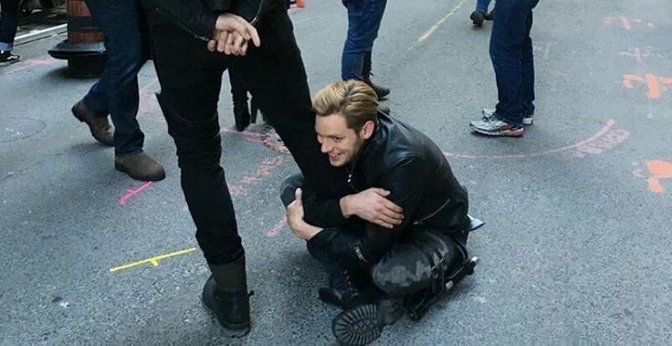 Dom loves Matt a lot. He is once again a panda