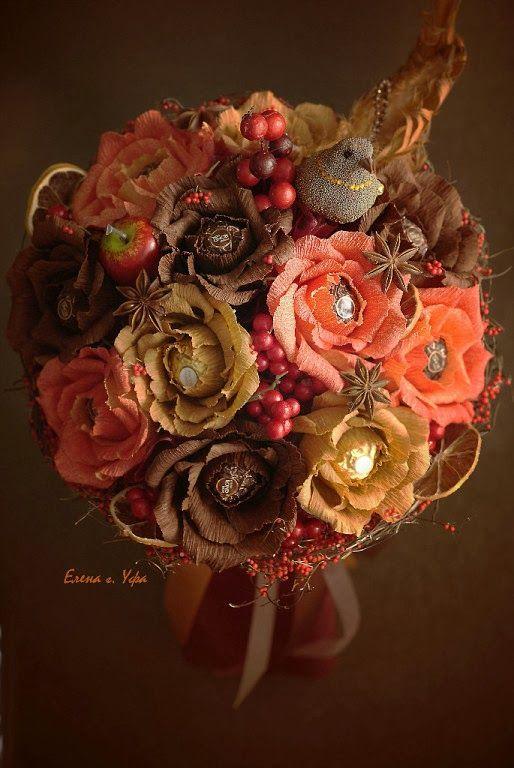 сладкие букеты, букеты из конфет, Елена Крехова, букеты Елены Креховой, sweet-design, elena krehova