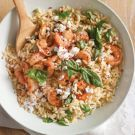 Try the Orzo with Feta, Basil and Shrimp Recipe on Williams-Sonoma.com