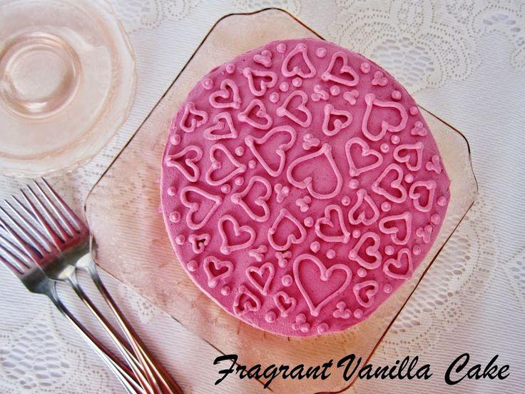 Vegan Valentine's Day Desserts   Fragrant Vanilla Cake