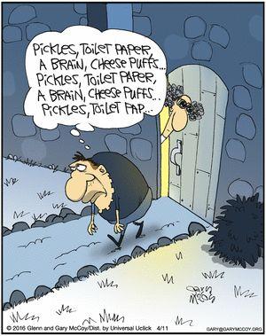 gocomics mobile - Halloween Humor Jokes