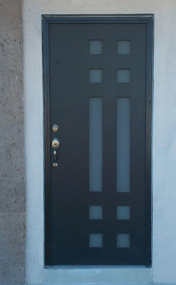 17 mejores ideas sobre puertas delanteras de color en - Puertas de herreria para entrada principal ...