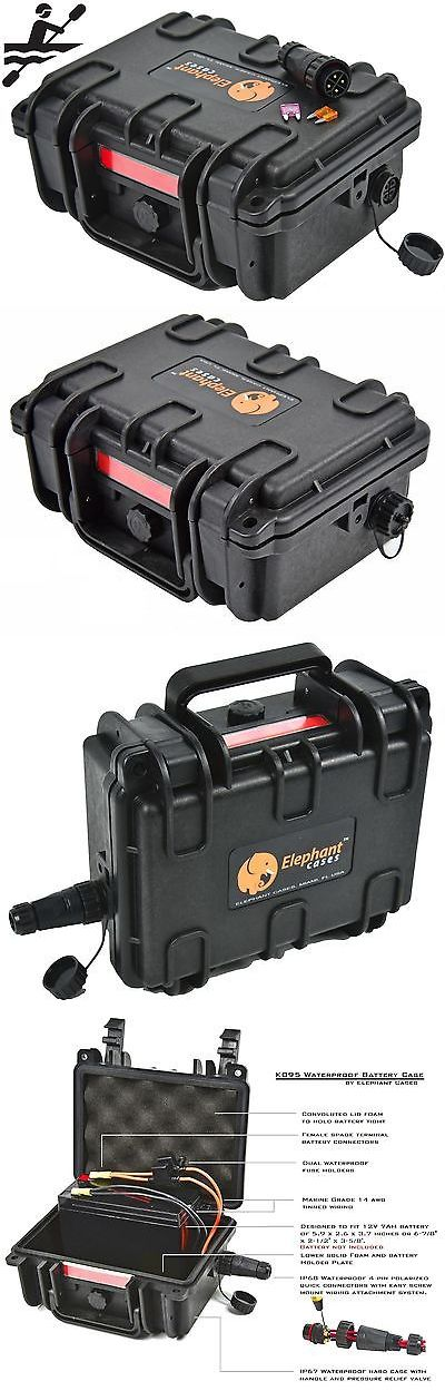 Accessories 87089: Elephant K095 Waterproof Battery Case Box For Kayak Boats Fish Finder Gps Lights -> BUY IT NOW ONLY: $69.99 on eBay!