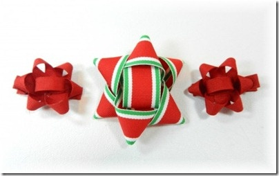 Christmas hairbows.