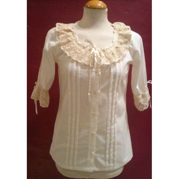 camisa-blusa-huertana-traje-regional-y-baturra.jpg (600×600)