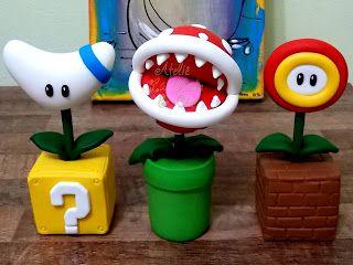 flores Mario Bros feitos por mim, Lu Costa