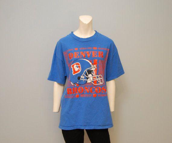Vintage Southern T shirt 100% cotton Medium 50s 60s navy blue WbEjjJRk