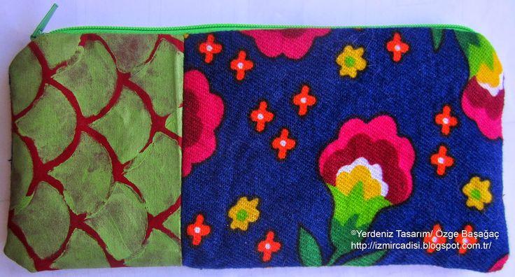 hermes fabric handmade painted art bag/ hermes el yapımı boyalı kumaş sanat çanta