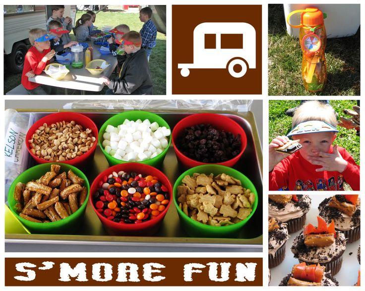 Backyard Camping Birthday Party : BIRTHDAY BLUEPRINT Backyard Campout Party
