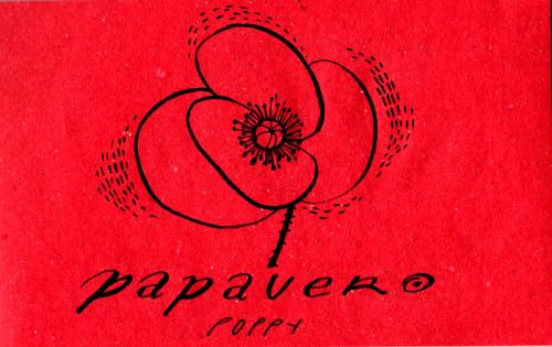 Learning Italian Language ~  Papavero (poppy) IFHN