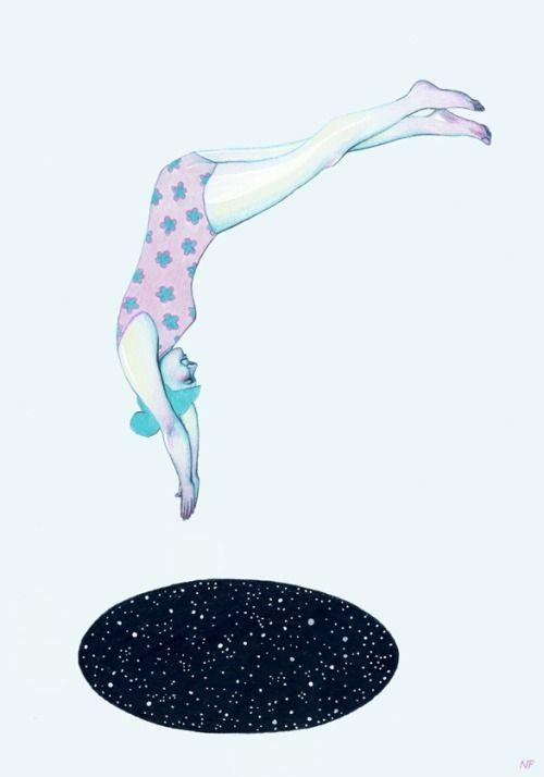 ILLUSTRATION / Natalie Foss - Into the Unkown