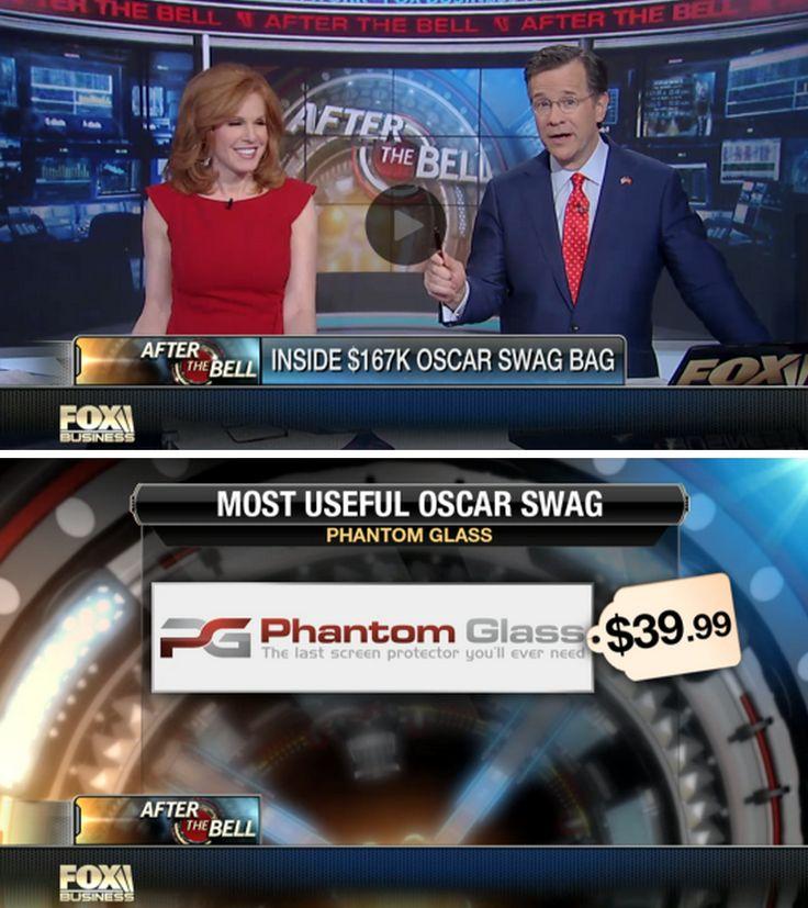 "WOW! Fox Business News did a great segment on this year's $167,000 Oscars Awards gift-bag - calling #PhantomGlass ""The Most Useful"" item inside! #Oscars #AcademyAwards #TheTheoryOfEverything #Selma #TheImitationGame #Boyhood #AmericanSniper #TheGrandBudapestHotel #Whiplash #Birdman"