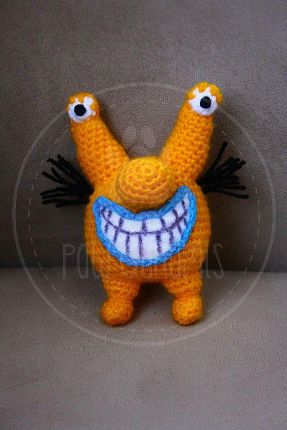 Krumm  Aaahh Real Monsters  13 cm amigurumi
