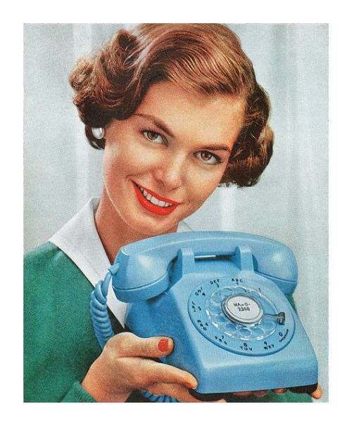 Detail from a 1959 Bell Telephone ad by totallymystified on Flickr.