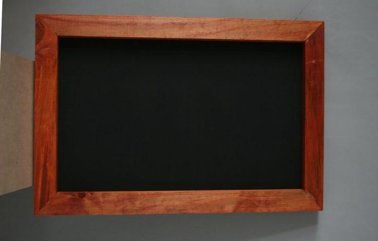 PIZARRA PIZARRON 60x40 COLGANTE color CEDRO - comprar online