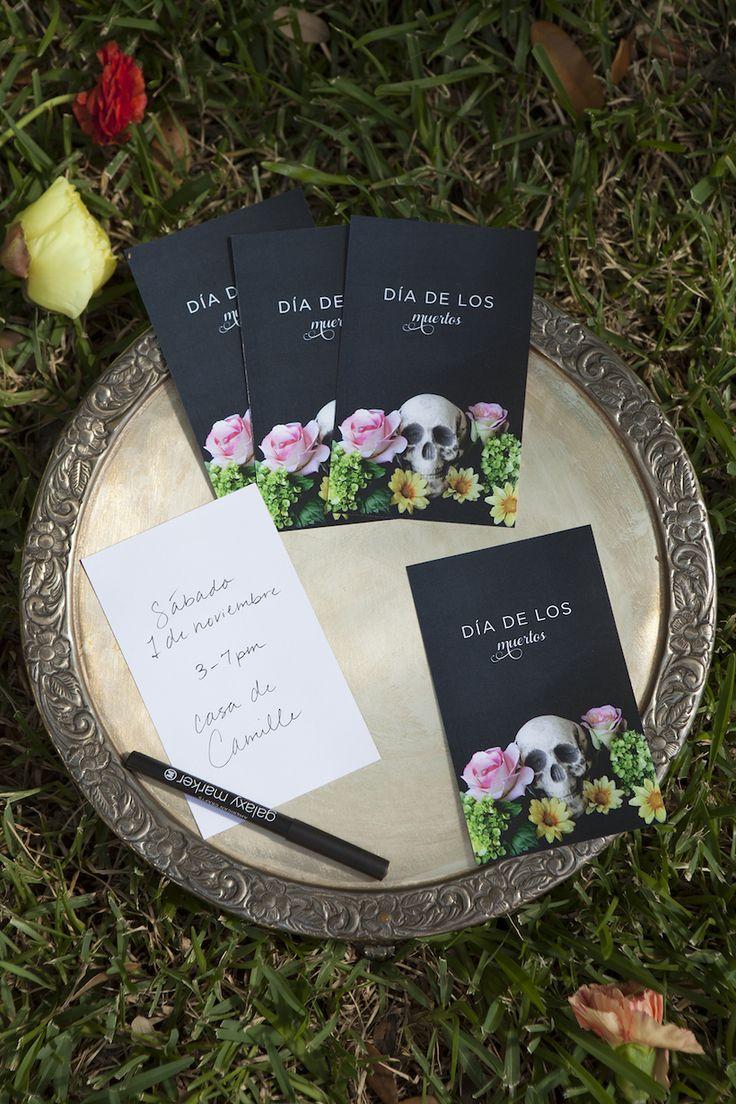 A Dia de los Muertos Bash | Camille Styles #ClicquotDia