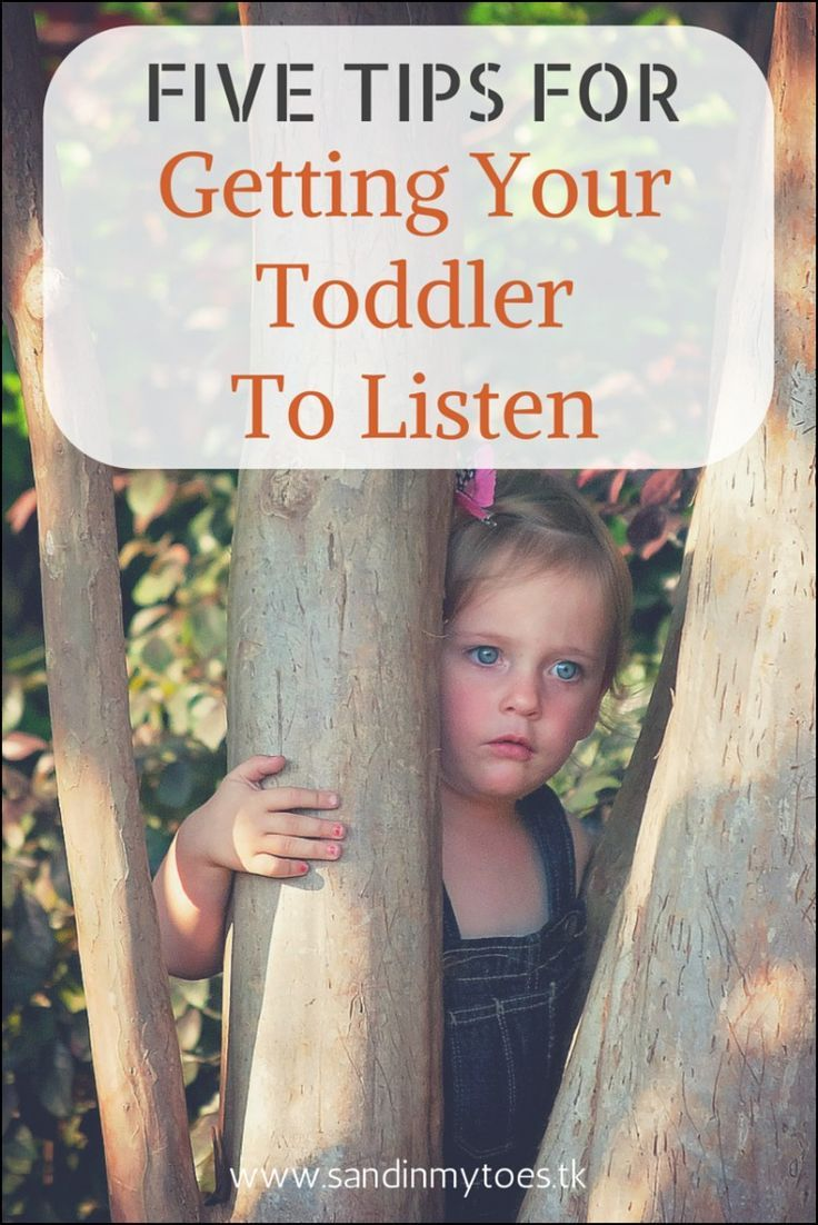 Tips for getting your toddler to listen and cooperate.