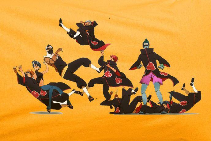 Naruto Hokage Akatsuki clan Kakuzu Konan, Pein, Uchiha Itachi T-Shirt Tee