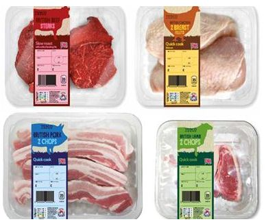 TESCO REFRESHES MEAT, FISH AND POULTRY RANGE
