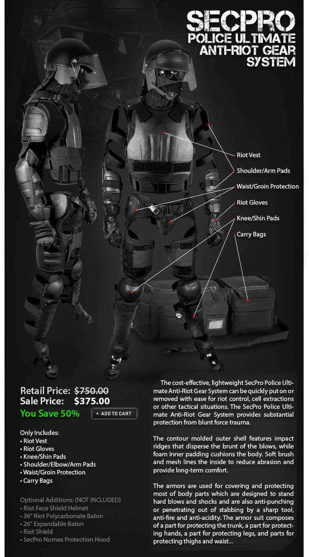 Or zombie apocalypse gear