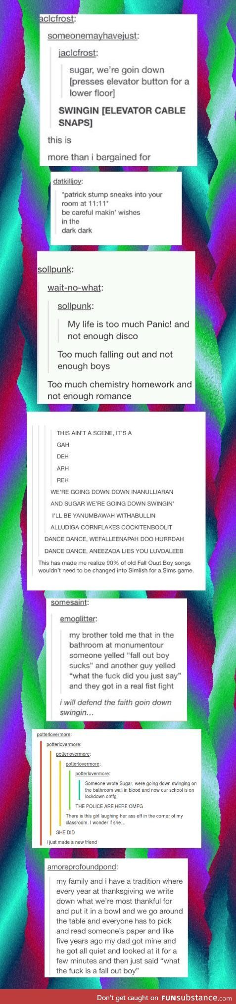 Fall Out Boy Tumblr Comp