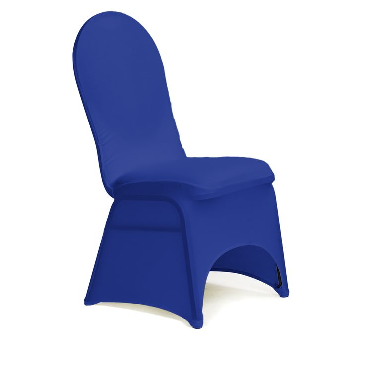 Stretch chair covers offer a sophisticated, modern look for ordinary banquet chairs. A stretch banquet chair cover conforms to the contours of banquet chairs like spandex, emphasizing the chair's shape with sleek, clean lines. Our stretch chair covers are made with 100% polyester material that can be laundered time and time again in your home washing machine.  Add depth to your event design by complementing chair covers with chair sashes of a different color or texture.   Fits round-top ...