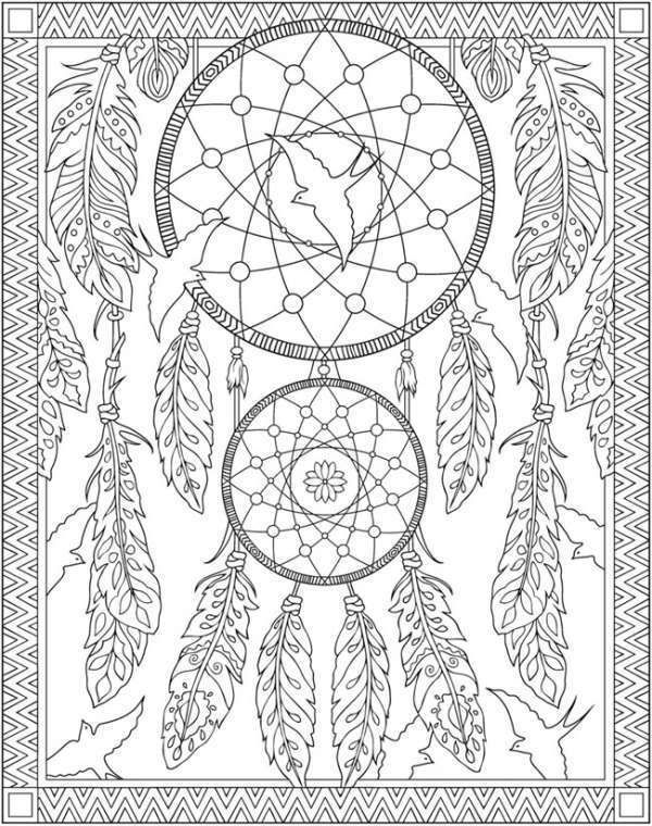 5 Native American Coloring Pages Dream Catcher Coloring Pages Coloring Pages Coloring Books