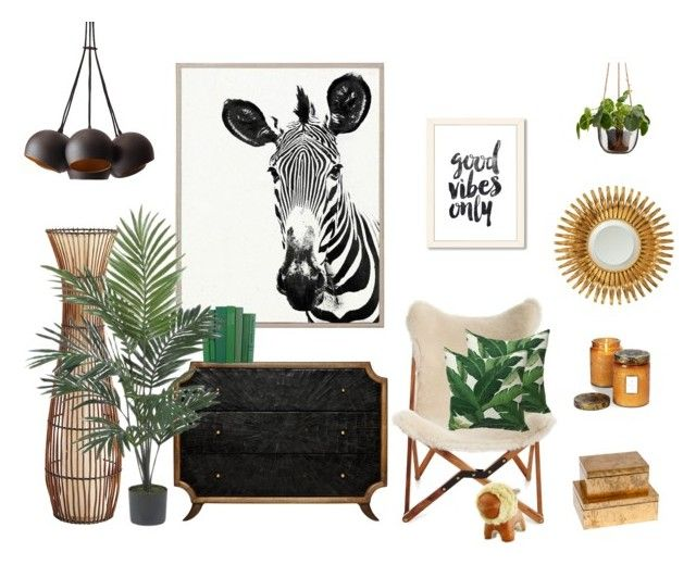Good vibes only by kelschiao on Polyvore featuring interior, interiors, interior design, home, home decor, interior decorating, Emporium Home, Pier 1 Imports, Universal Lighting and Decor and Nearly Natural