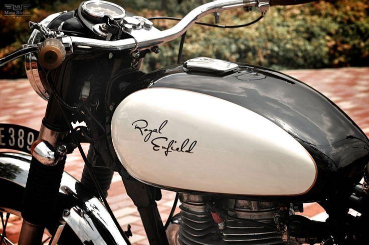 Royal Enfield-Bullet 350 restored