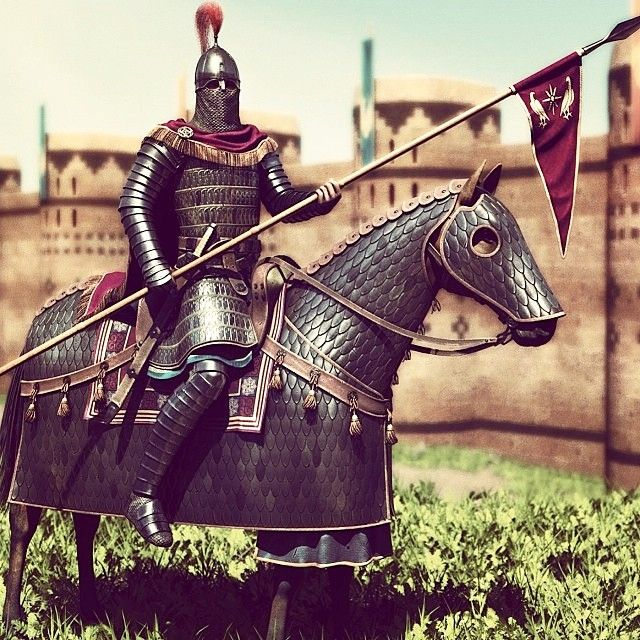 "Reconstruction of The Artaxiad Heavy Cavalry by Arman Avakan.  Armenian Ayrudzi Cataphract (disambiguation: Ayr – u – Dzi; Man – and – Horse). The Artaxiad Heavy Cavalry. Artaxiad Dynasty ruled the Kingdom of Greater Armenia from the Second Century BC to the First Century AD.  King Tigran the Great's best military asset was the Ayrudzi Cavalry which was noted in several primary sources; Strabo 64/63 BC – ca. 24 AD (Artaxiad period) said: ""Artavasdes (king of the Armenians), at the time when…"