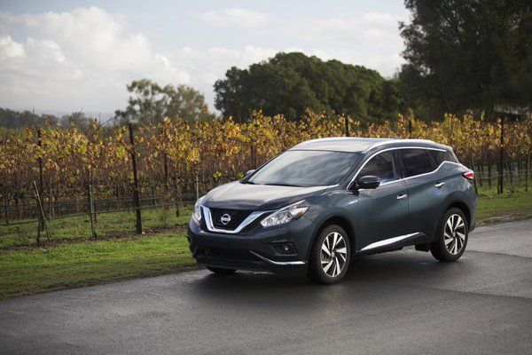 "Nissan Murano named U.S. News and World Report ""2016 Best 2-Row SUV for Families"""