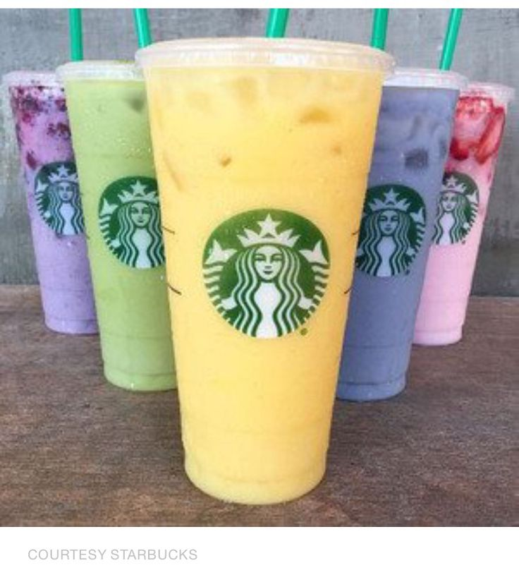 Starbucks Refresher Drinks Calories