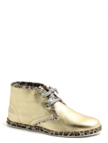 LeCrown-polacchine dorate-golden desert boots-LeCrown shoes shop online