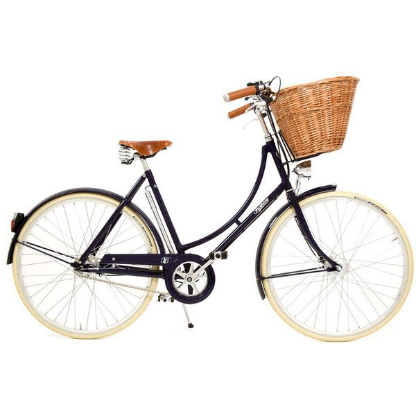 Evans Cycles | Pashley Britannia 2010 Hybrid Bike | Online Bike Shop ❤ liked on Polyvore featuring fillers, bicycles, bikes, vehicle and other