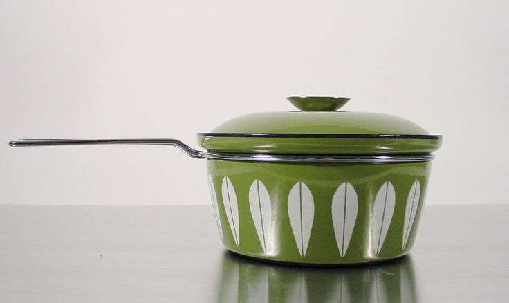 Cathrineholm Saucepan Sauce Pan Catherineholm Lotus Avocado Green Pot with Lid. Grete Prytz Kettelsen. Scandinavian Modern Design.. $59.00, via Etsy.
