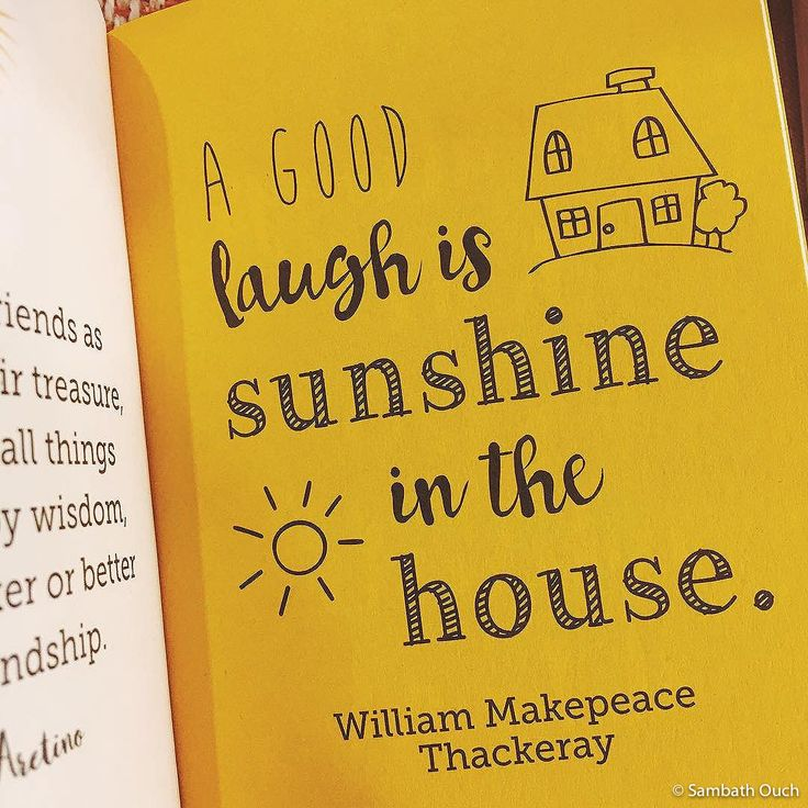 A Good Laugh is Sunshine in the House © Sambath Ouch