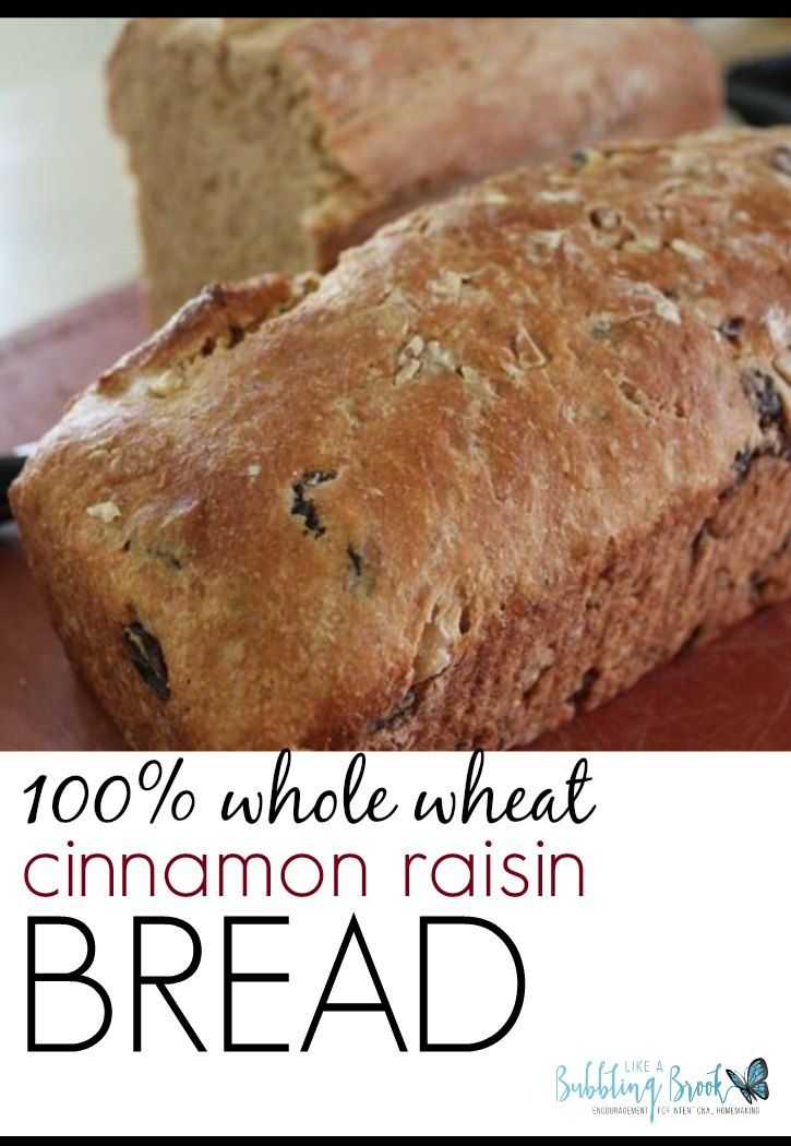 Whole Wheat Cinnamon Raisin Walnut Bread | Cas, Read more and We