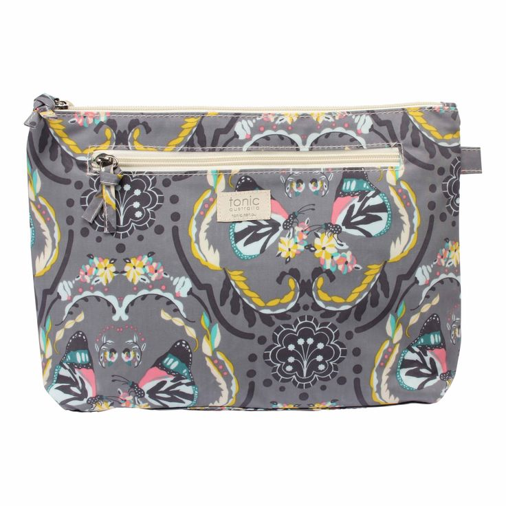Butterfly Large Cosmetics Bag #cosmetics #bag #bathroom #design