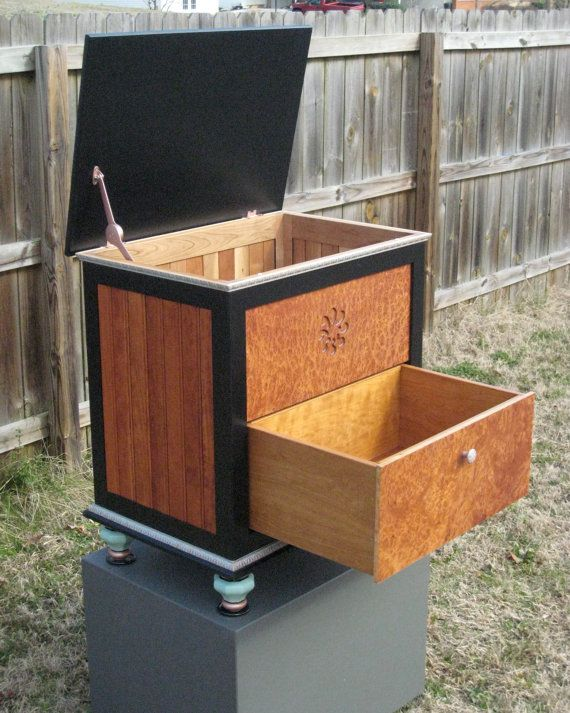 Personal Storage Chest for Clothing or by RosetteStorageChests, $1230.00