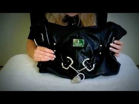 ~Shopping Channel Purses/Bags Demonstration RP~ Soft Spoken, Soft Hands, Leather, Crinkling - YouTube