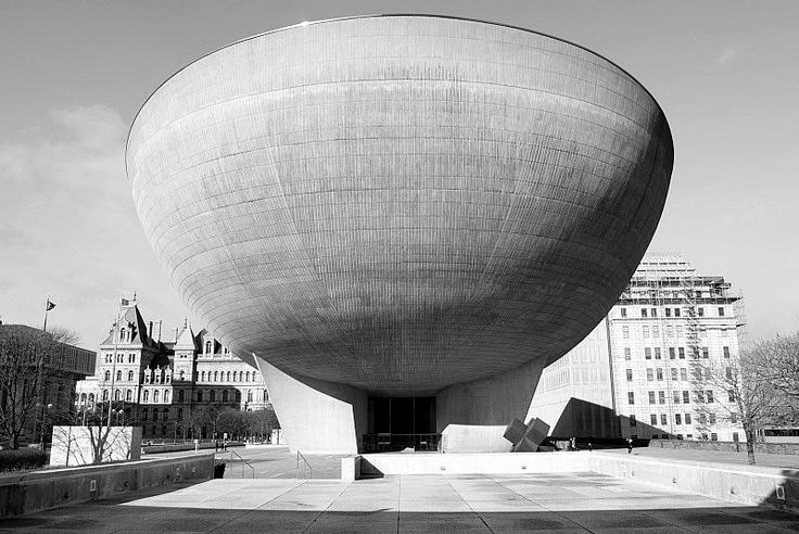 The Egg theater, Empire State Plaza, Albany