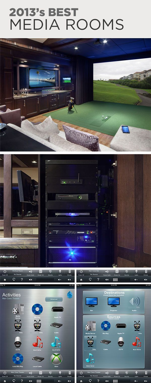 Best Media Rooms! >> http://www.hgtvremodels.com/cedia-electronic-lifestyle-awards-peoples-pick-2013-media-rooms/package/index.html?soc=cediaparty
