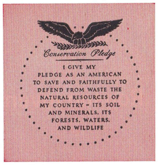 I give my pledge as an american to save and faithfully to for Natural resources soil information